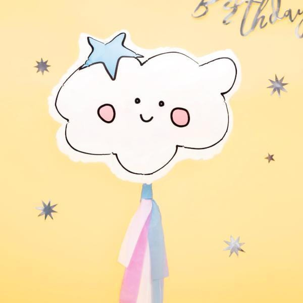 Cute Cloud Party Balloon | Helium Balloons UK