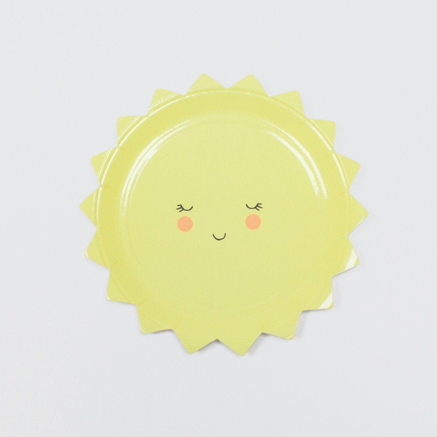 Cute Sun Party Plates Meri