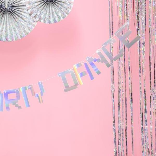Dance Party Banner | Disco Party Bunting