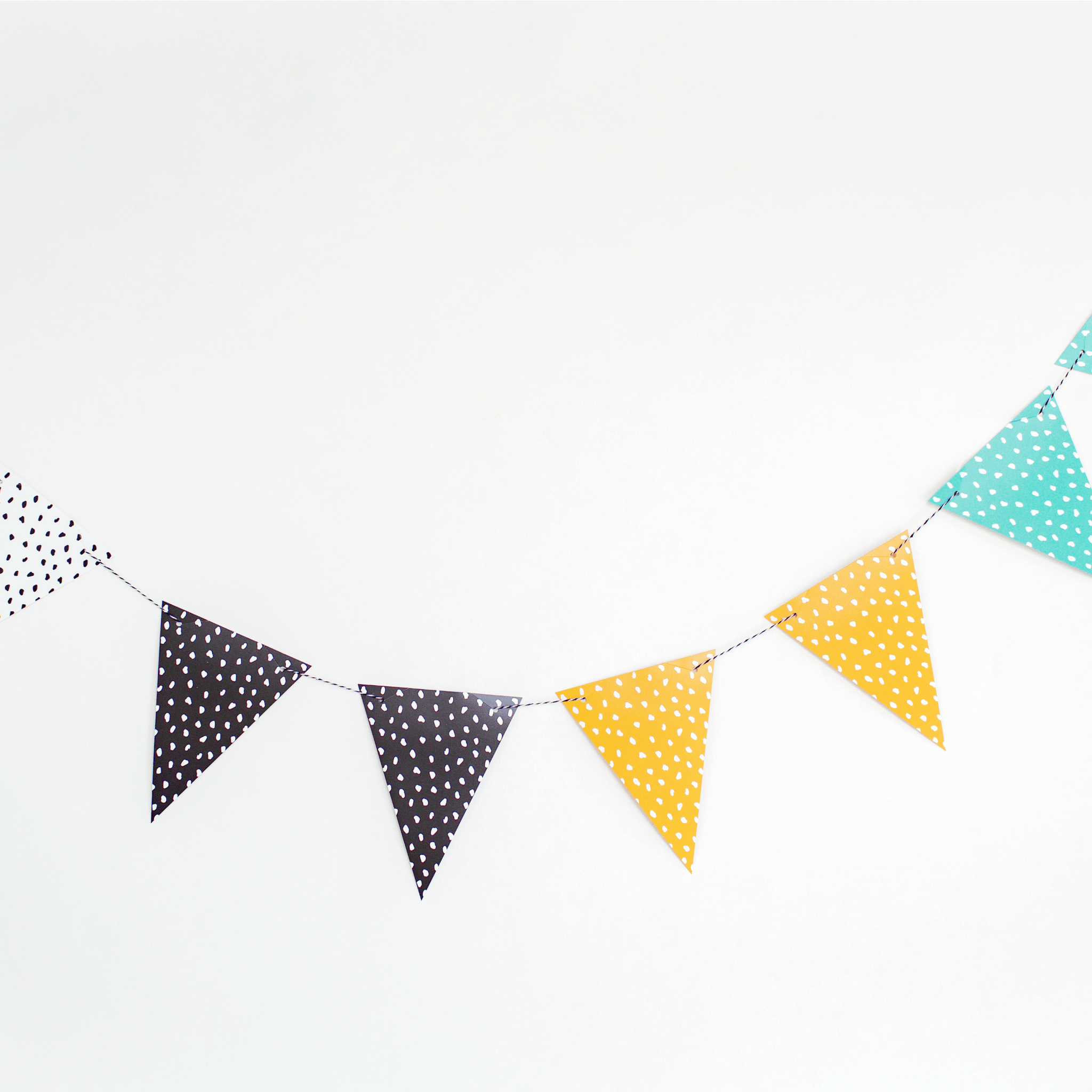 Dinosaur Bunting | Paper Party Bunting | Dinosaur Party