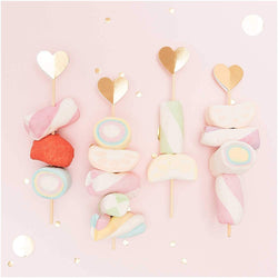 Heart Drink Stirrers | Wooden Cocktail Stirrers