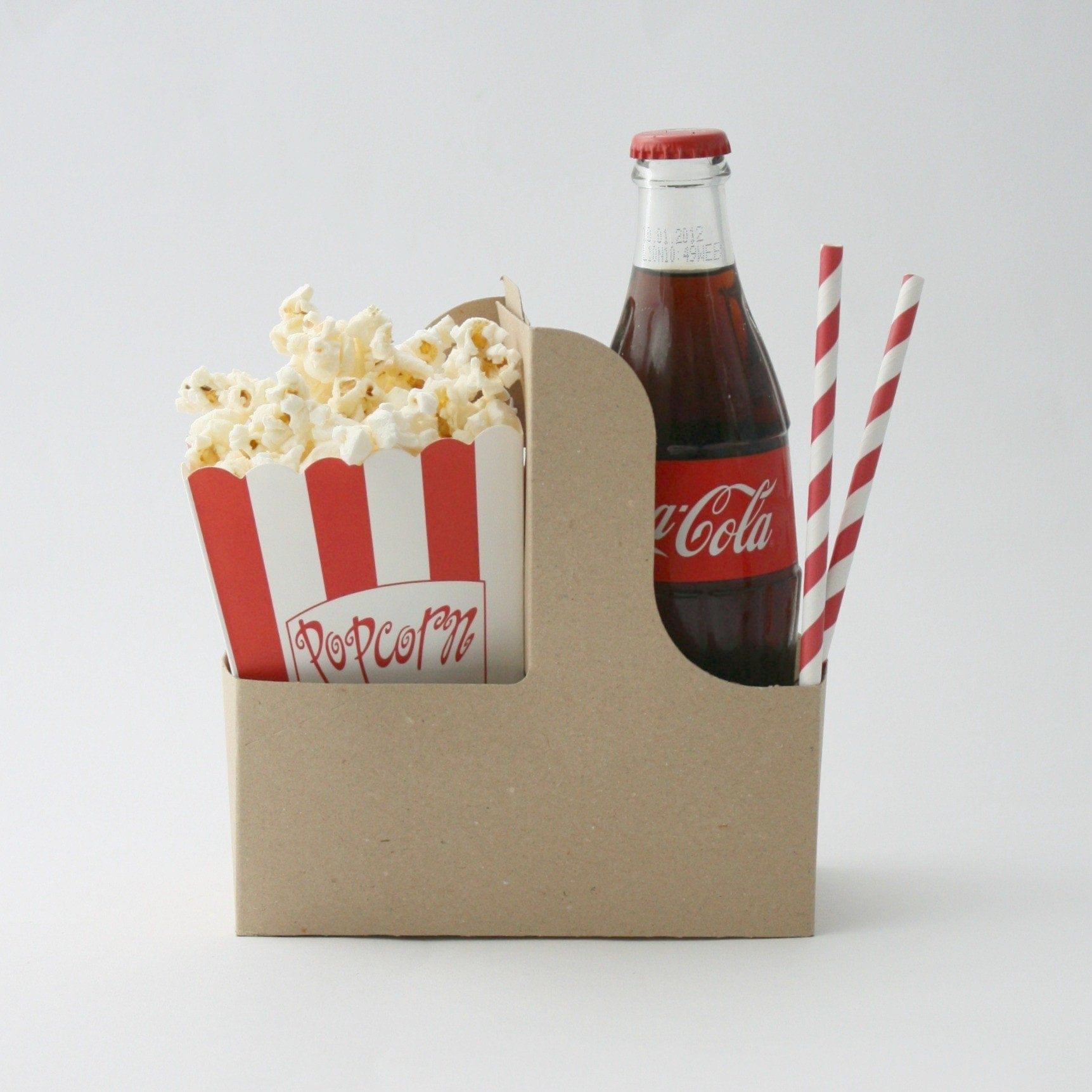 Drinks carrier | Cardboard Kraft Drinks Carriers | Movie Party Ideas | UK Party Supplies