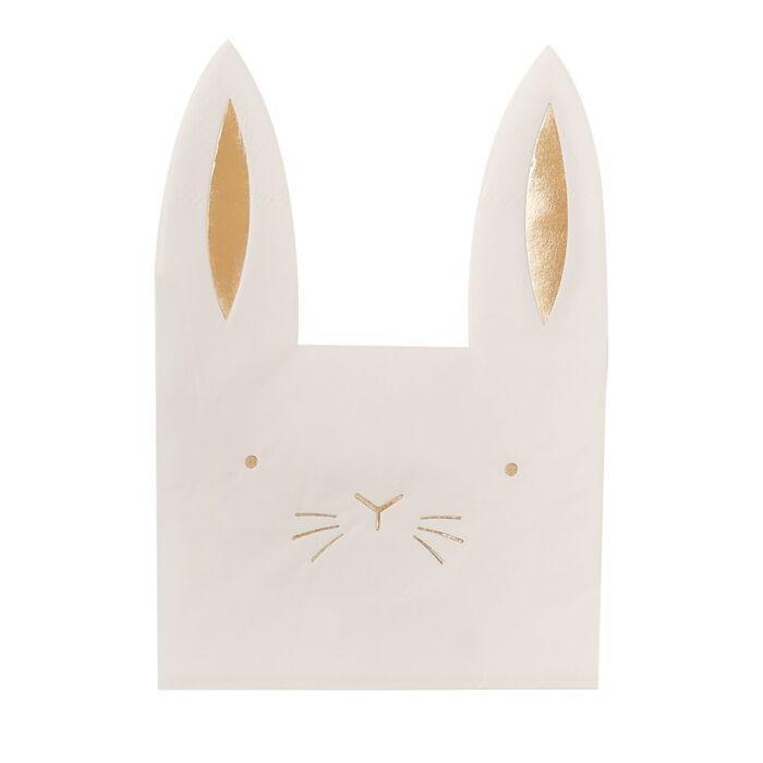 Easter Bunny Napkins | Easter Party Supplies Ginger Ray