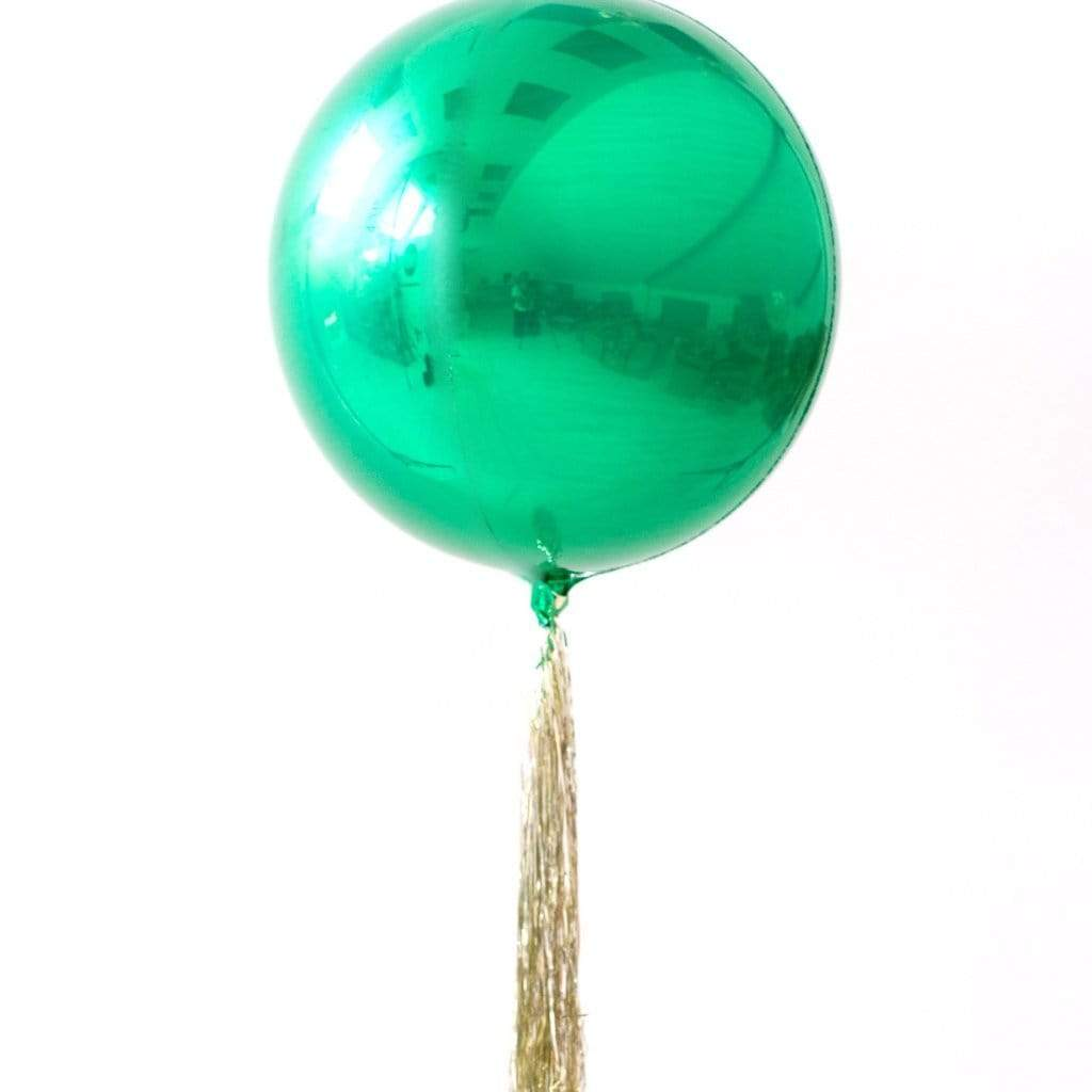 Emerald Green Orb Balloon