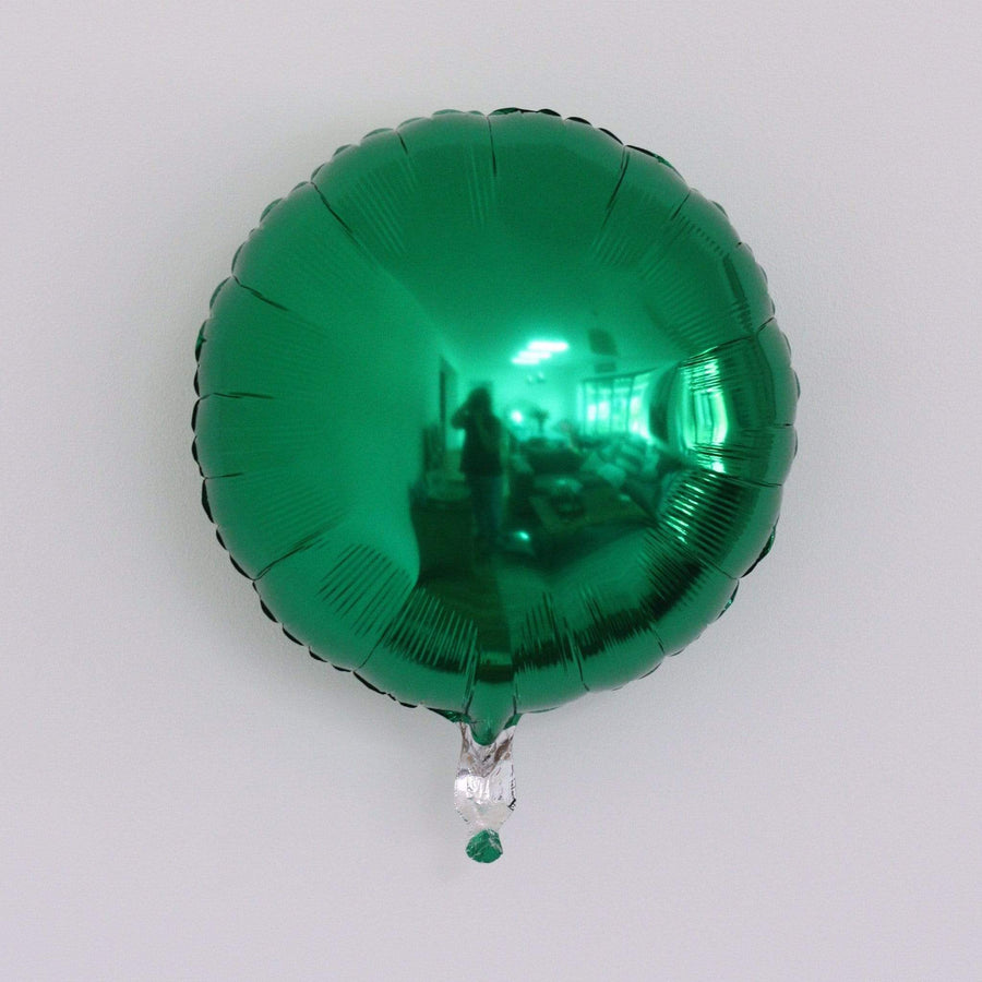 Emerald Green Foil Balloon | Helium Balloons Online UK