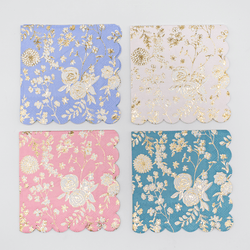 English Garden Lace Party Napkins
