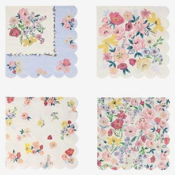English Garden Party Napkins