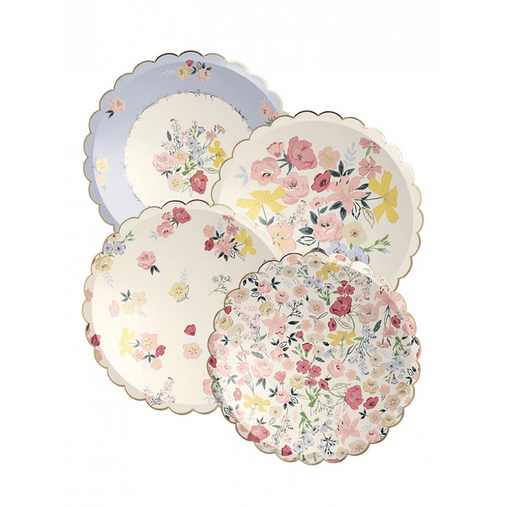 English Garden Party Side Plates (8)