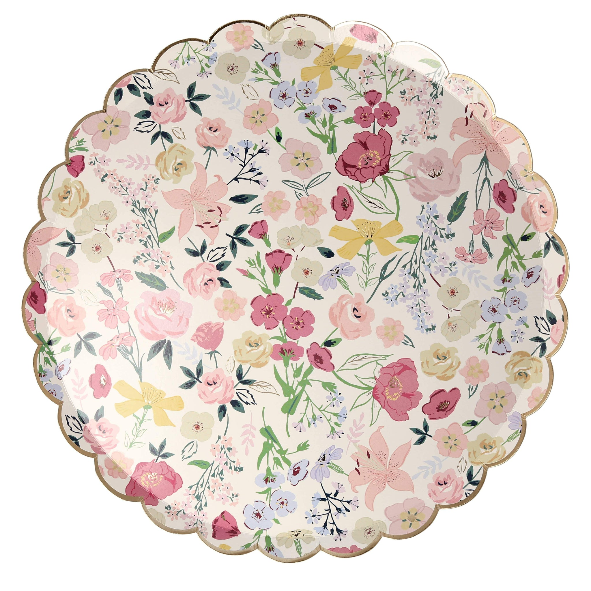 Garden party plates for tea party, engagement, wedding or anniversary | Meri Meri UK