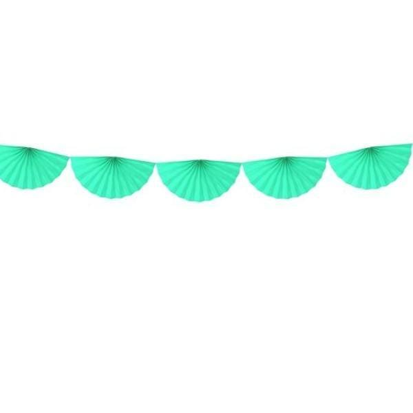 Fan Garland - Mint