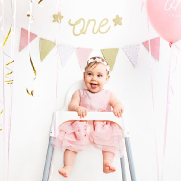 First Birthday Banner | 1st Birthday Party Decorations