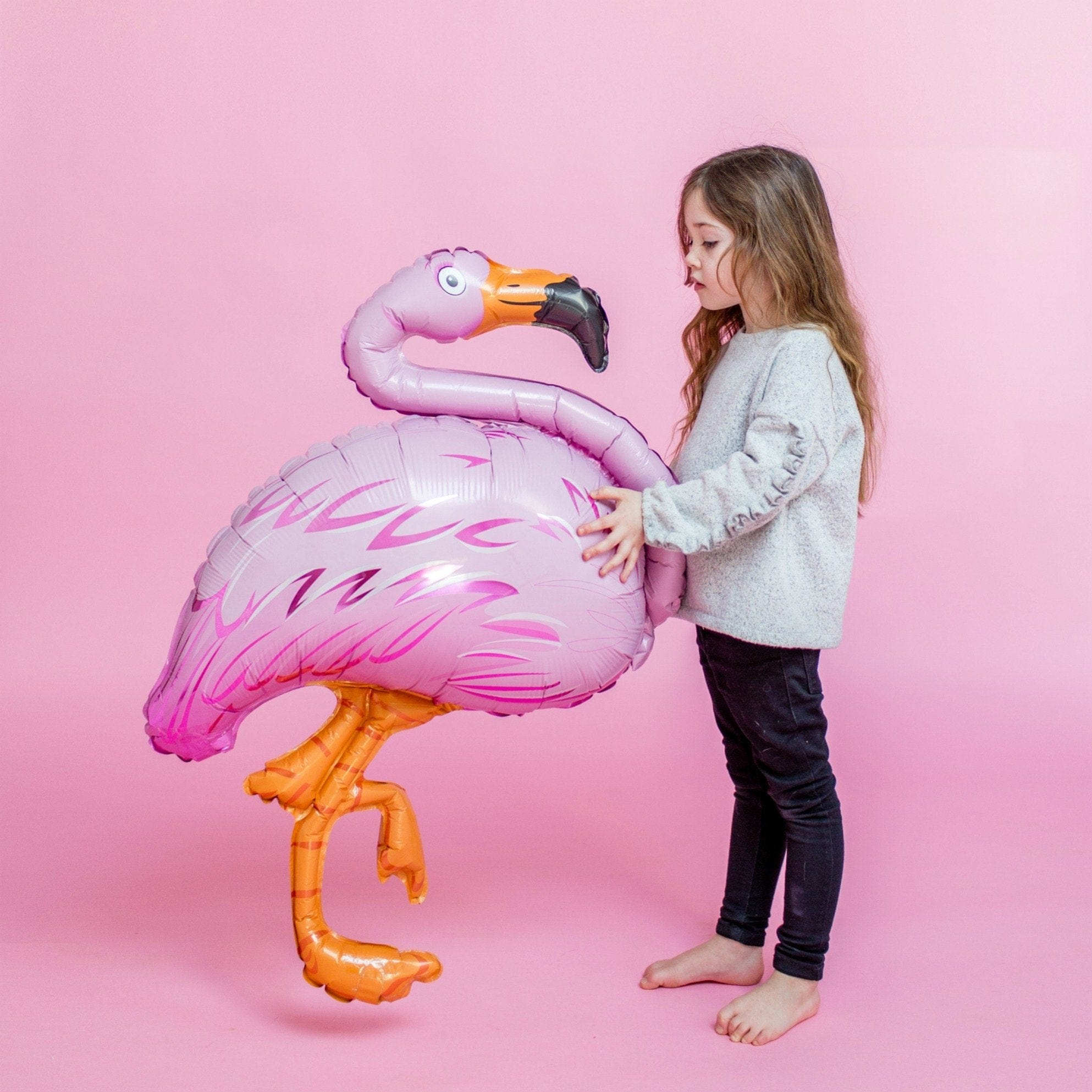 Giant Flamingo Foil Balloon Flamingo Balloon | Flamingo Party Ideas | Fun Shaped Foil Balloons