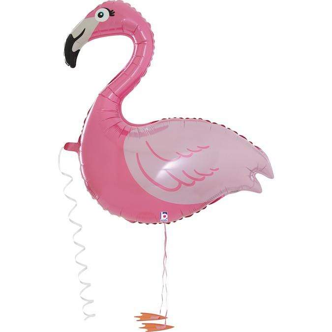 Flamingo Friend Walker Pet Balloon