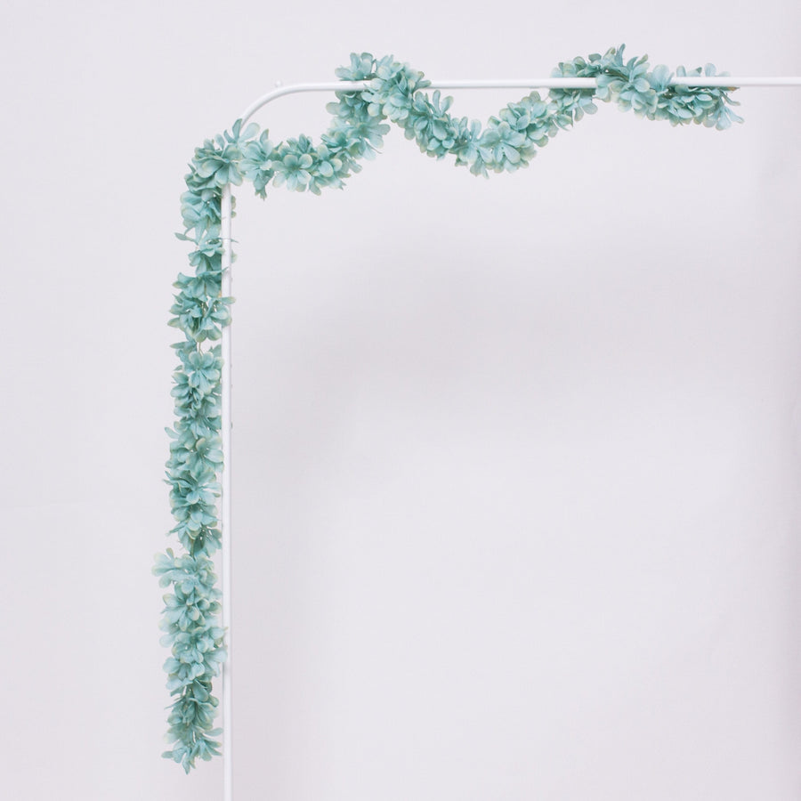 Floral Garland Mint | Flower Garlands for Balloon Tails