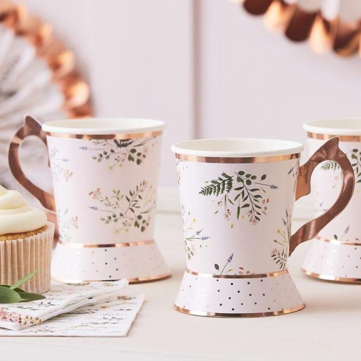 Afternoon Tea Party Paper Cups by Ginger Ray