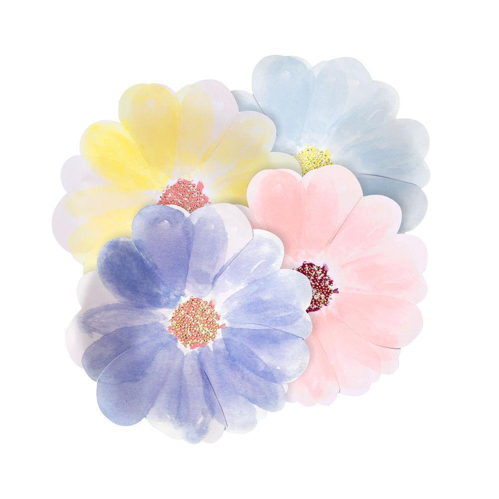 Flower Garden Small Party Plates (8 Pack)