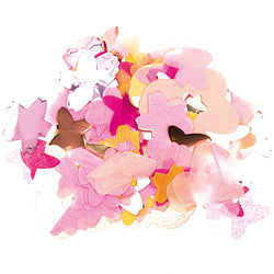 Flower shaped confetti | Pink Unusual Confetti