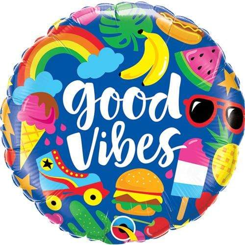 Foil Balloon - Good Vibes