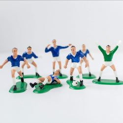Football Team Cake Topper Set - Blue
