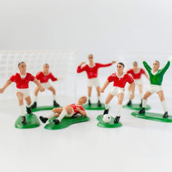 Football Team Cake Topper Set - Red