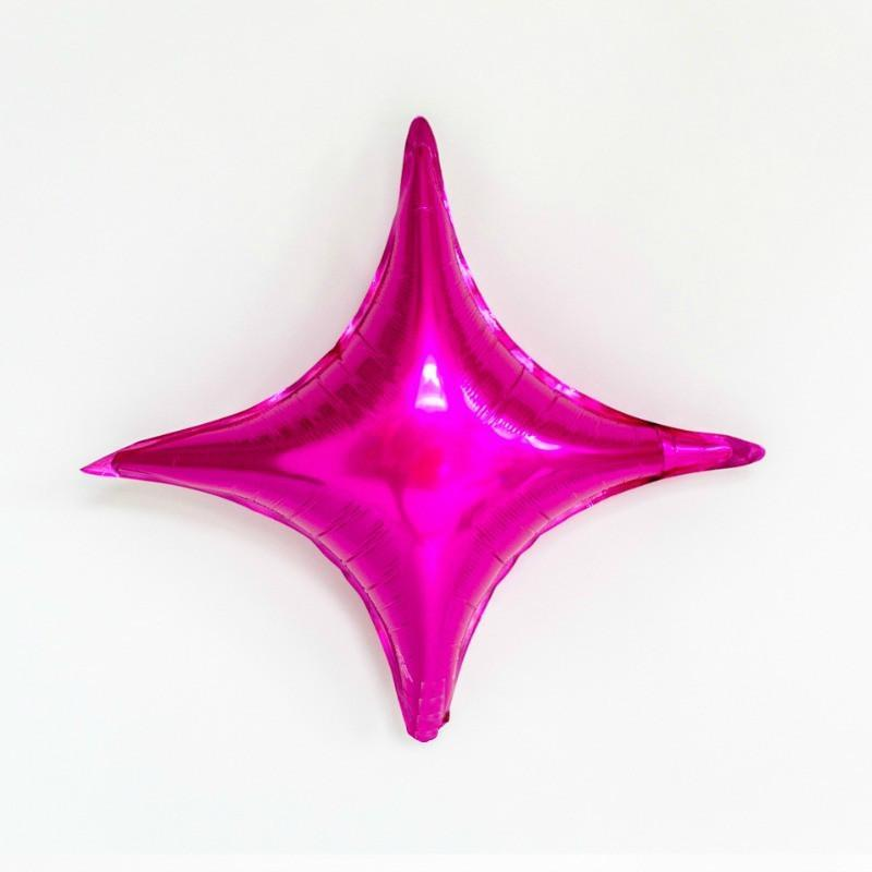 Pink Star Balloon