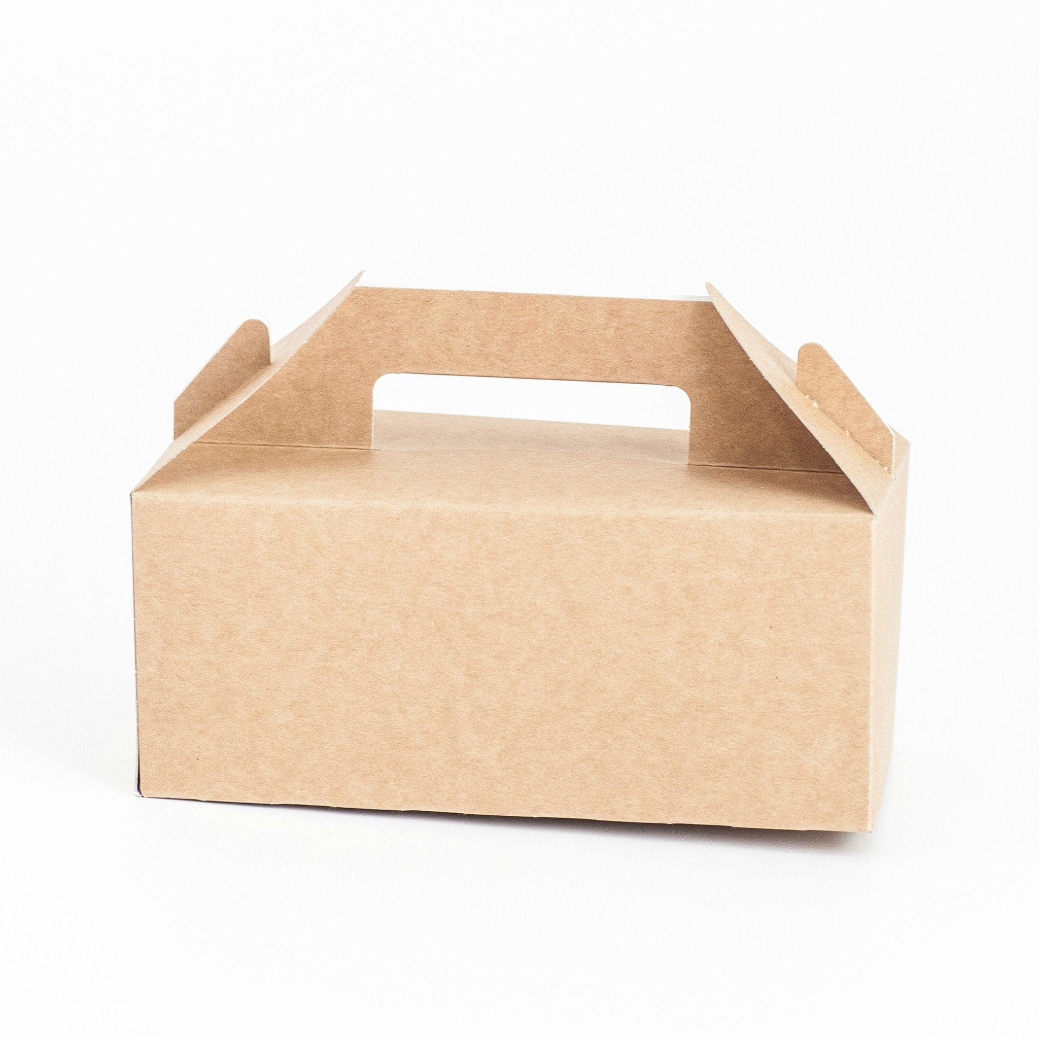 Gable Boxes (6 pack) Kraft or White