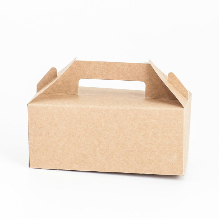 Large Gable Boxes (6 pack) Kraft or White