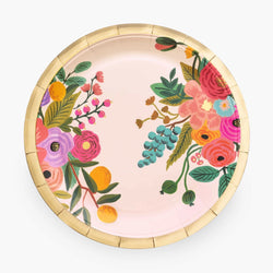 Garden Party Large Paper Plates (Pack of 10)