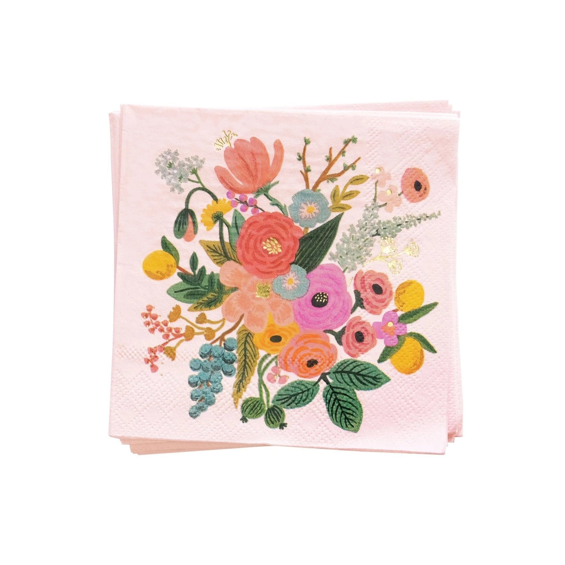 Rifle Paper Garden Party Napkins | Beautiful Wedding and Party Napkins