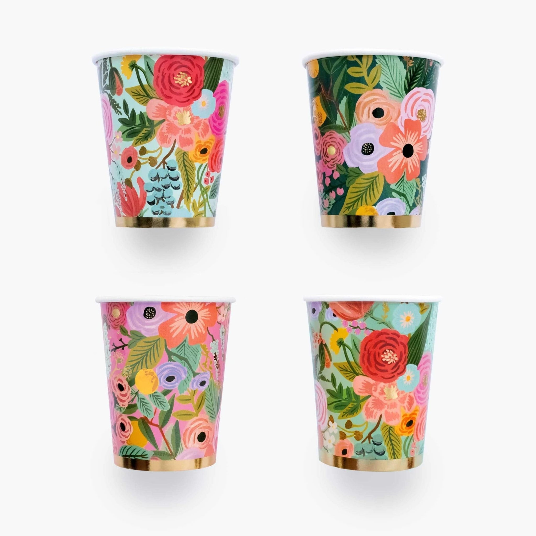 Rifle Paper Party Cups | Garden Wedding Paper Cups UK