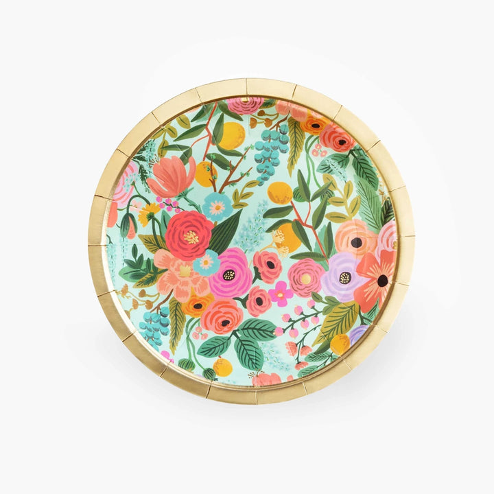 Garden Party Small Paper Plates (Pack of 10)