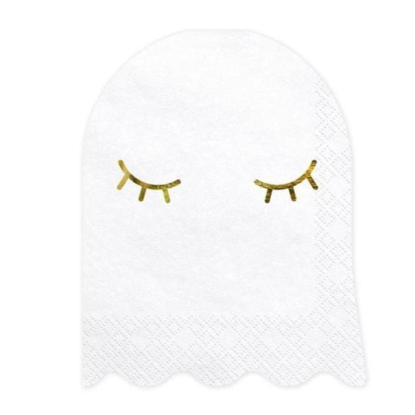 Ghost Party Napkins | Ghost Halloween Shape Napkins