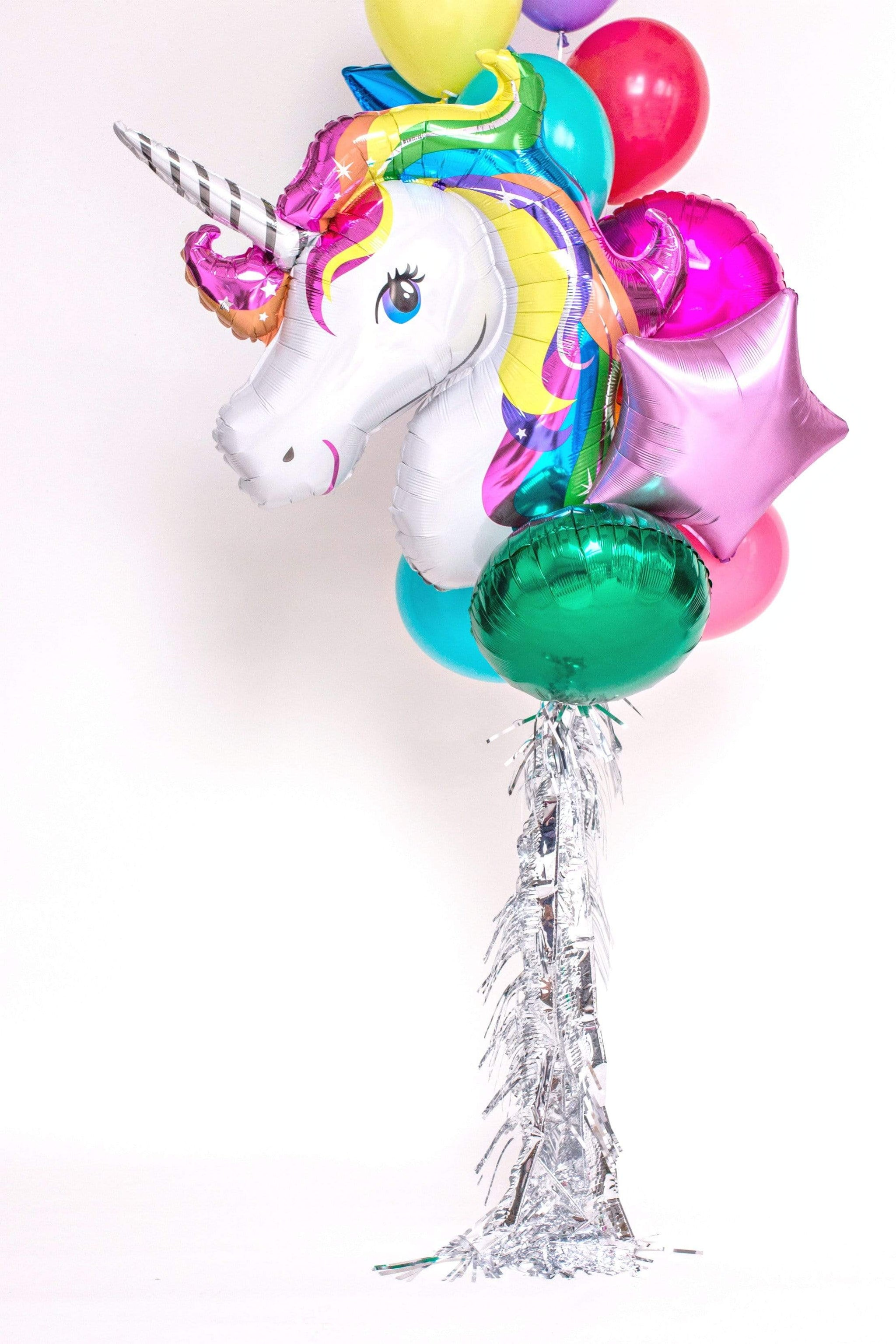 Giant Balloon Bouquet Kit - Believe in Unicorns