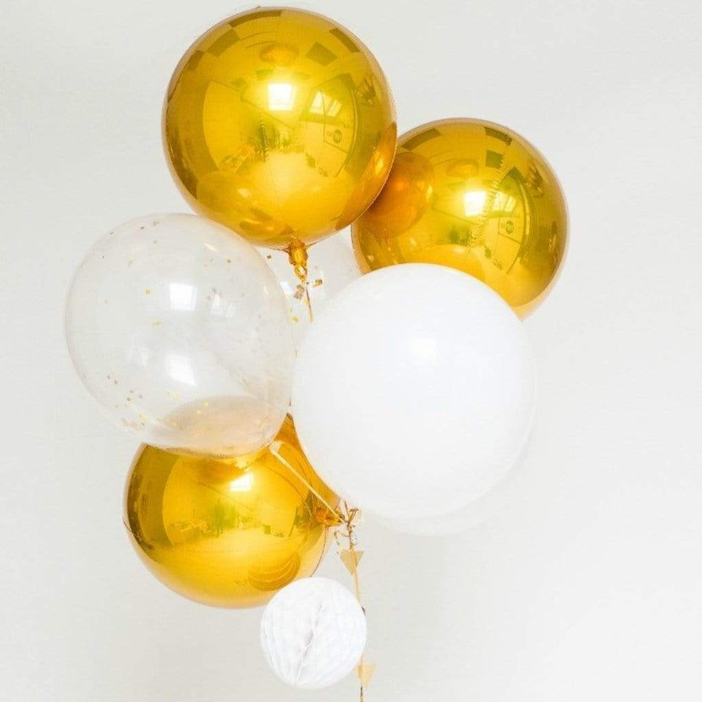 Giant Balloon Bouquet Kit - Cosmo Gold