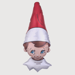 Elf On The Shelf Foil Helium Balloon
