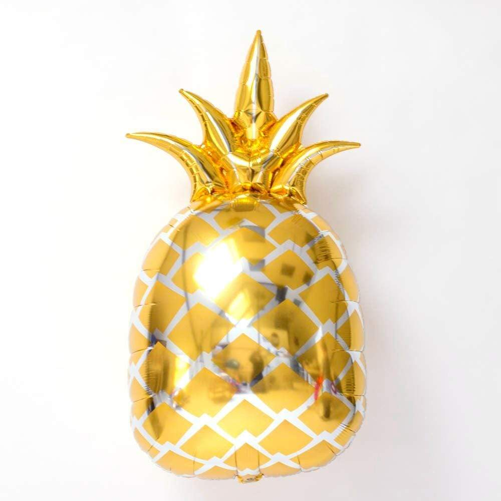 Gold Pineapple Foil Balloon