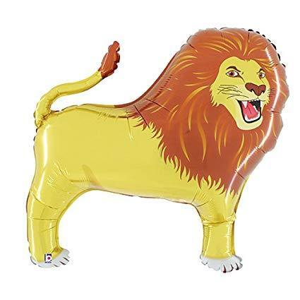 Giant Lion Balloon | 41 Inch Lion Heliun Balloon