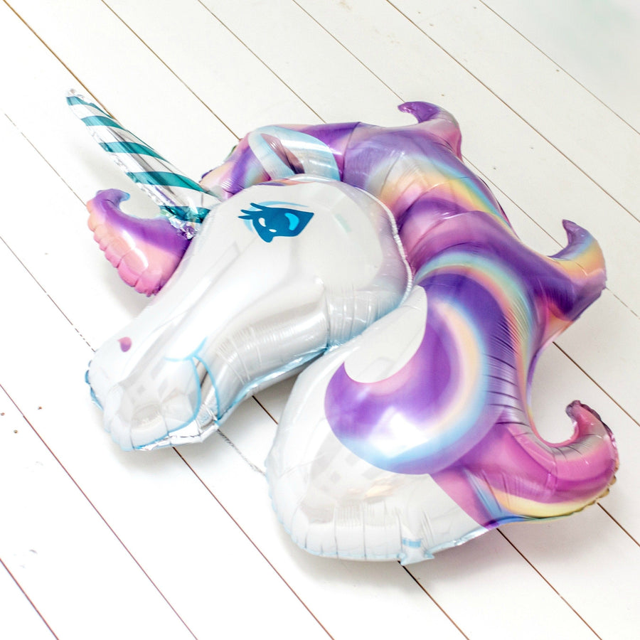 Unicorn Head Foil Balloon | Unicorn Party Ideas