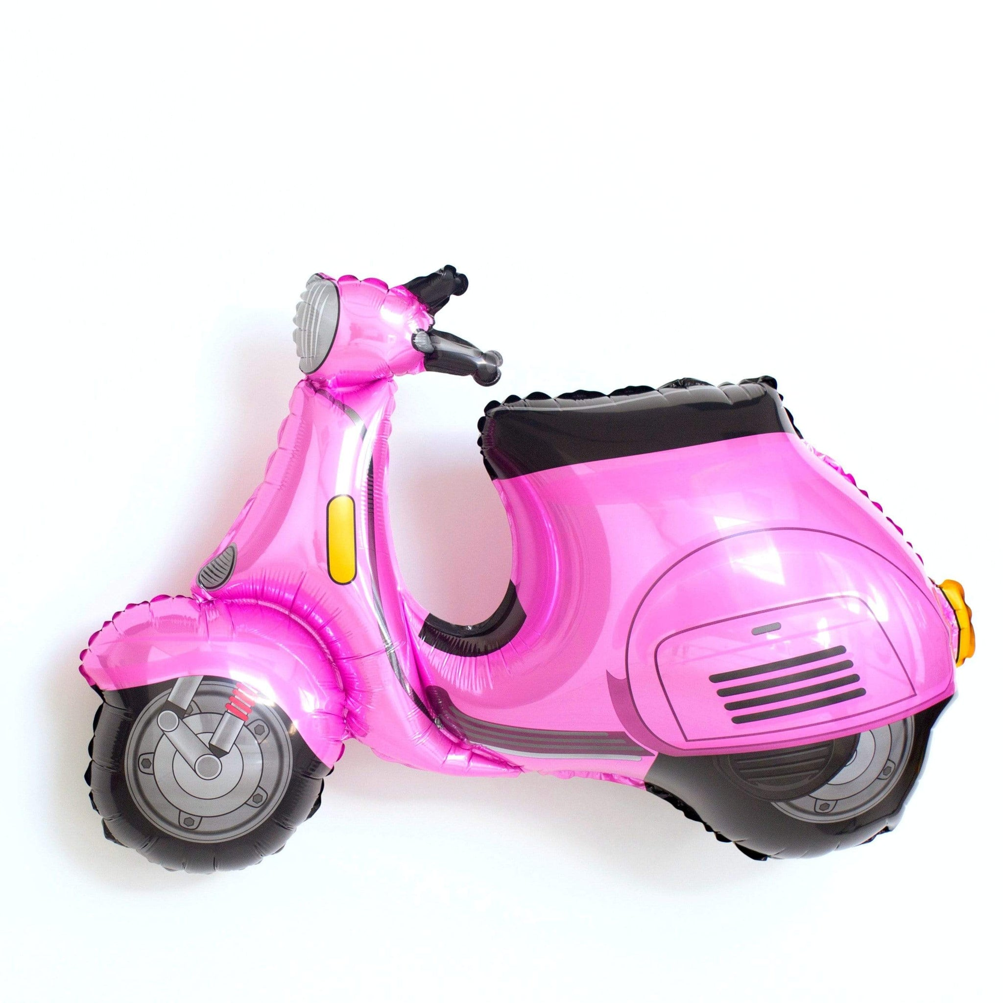 Pink Vespa Scooter Balloon