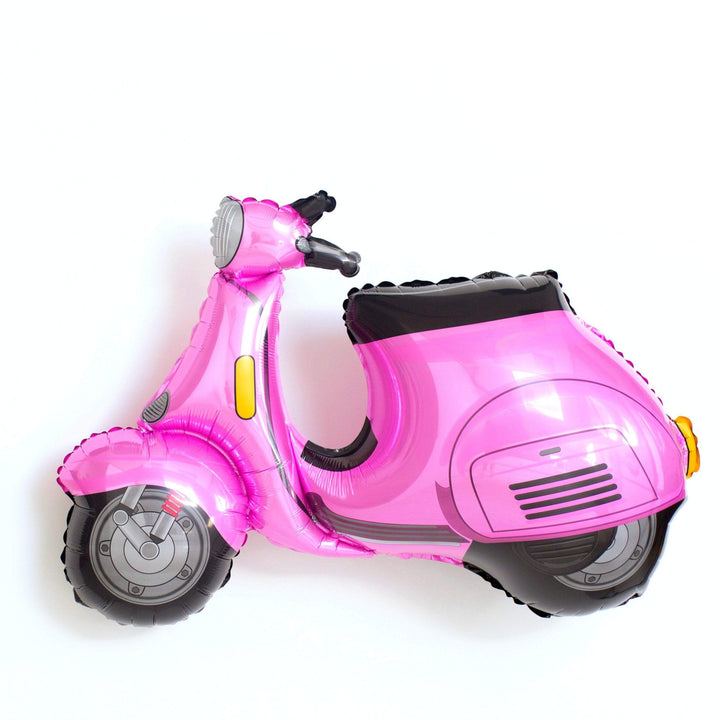 Giant Pink Vespa Scooter Balloon