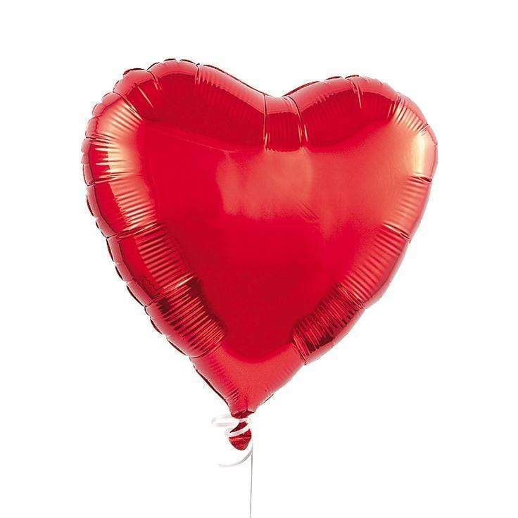 Giant Red Heart Foil Balloon 36""