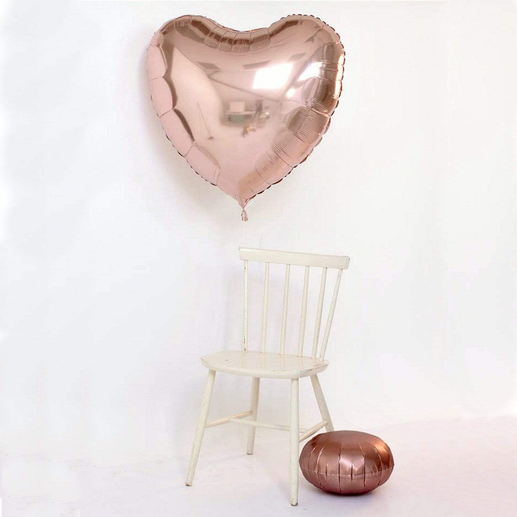 Giant rose Gold Foil Balloon