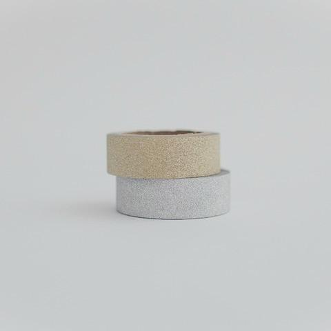 Gold Silver Glitter Craft Tape | Shop MT Washi Tape UK