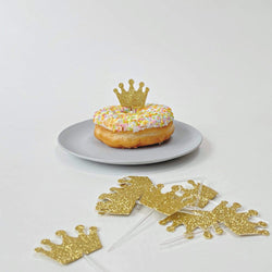 Princess Crown Cupcake Toppers. Princess Party Supplies UK