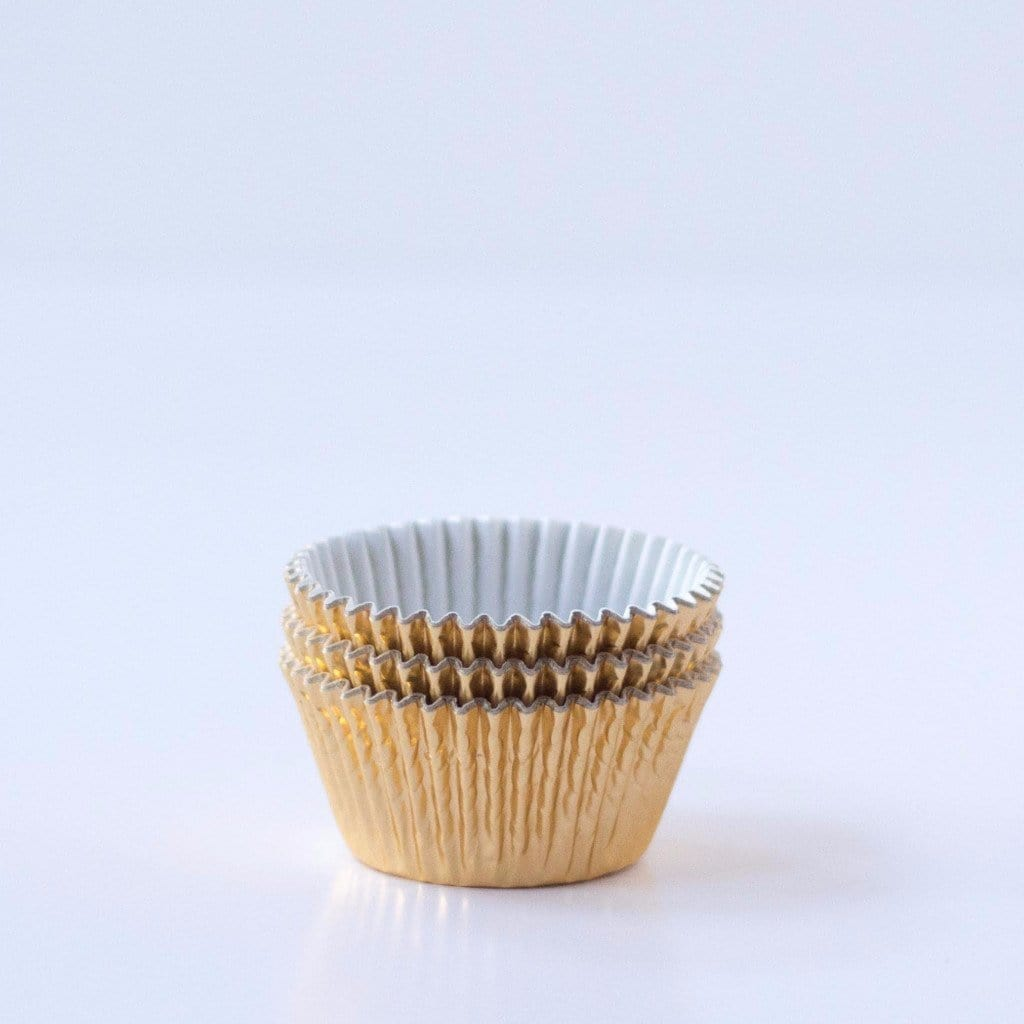 Gold Foiled Cupcake Cases