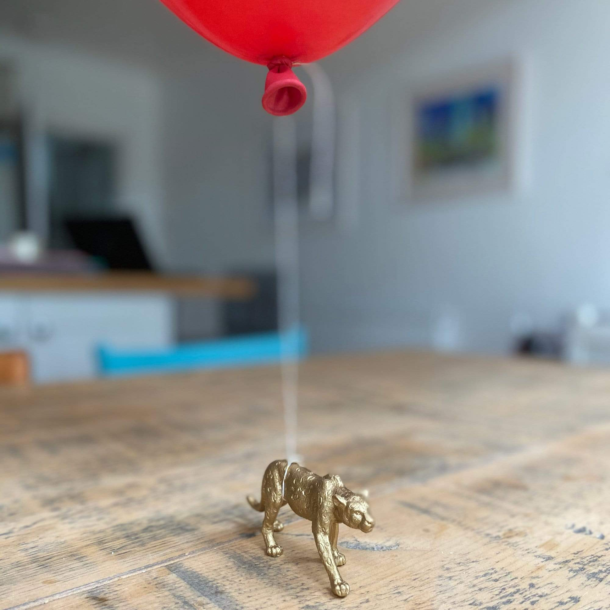 Leopard Balloon Weight | Leopard Animal Table Decoartion