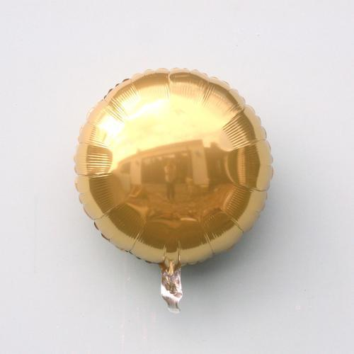 Gold round Foil Balloon | Helium Balloons Online UK