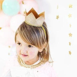 Gold Star Dressing Up Crown