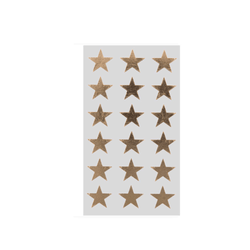 Gold Star Sticker Labels For Gifting and Party Bags