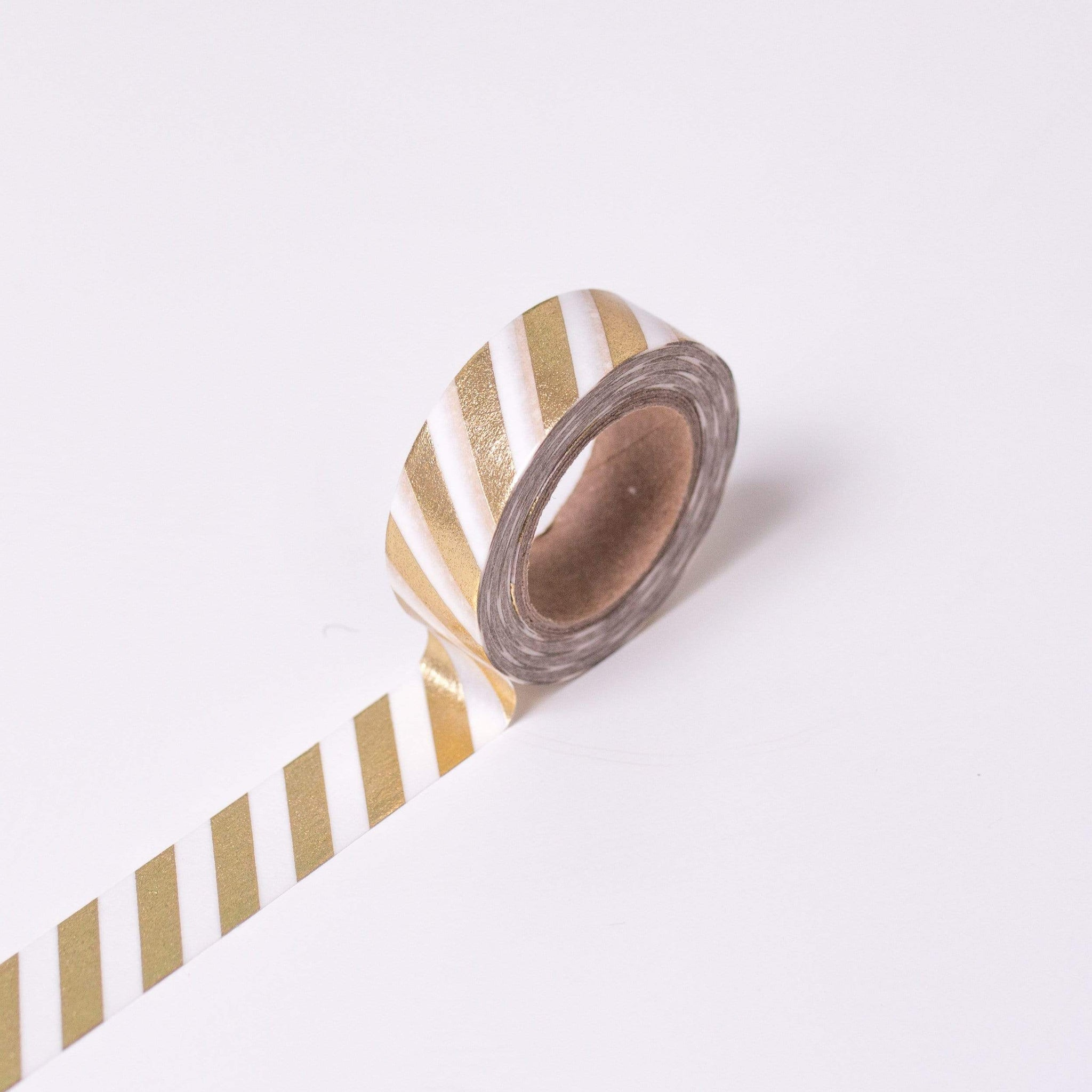 Gold Striped Craft Tape | Shop MT Washi Tape UK Tape